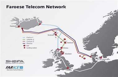 设得兰-奥克尼海底光缆系统shefa-2进入修复期