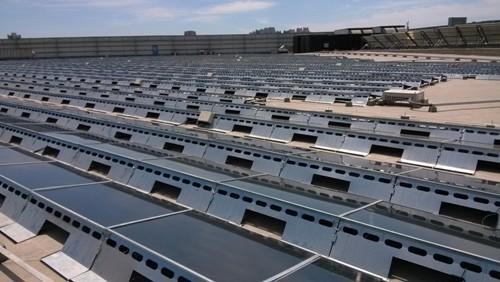 北京宜家商场屋顶太阳能