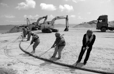 福清吉钓岛海底电缆敷设今完工