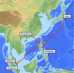 亚洲快线海底光缆将延伸至柬埔寨