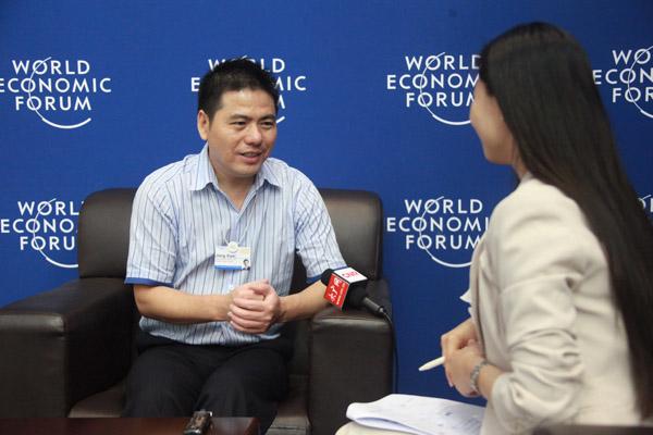 蒋锡培:政府简政放权给企业发展带来方便