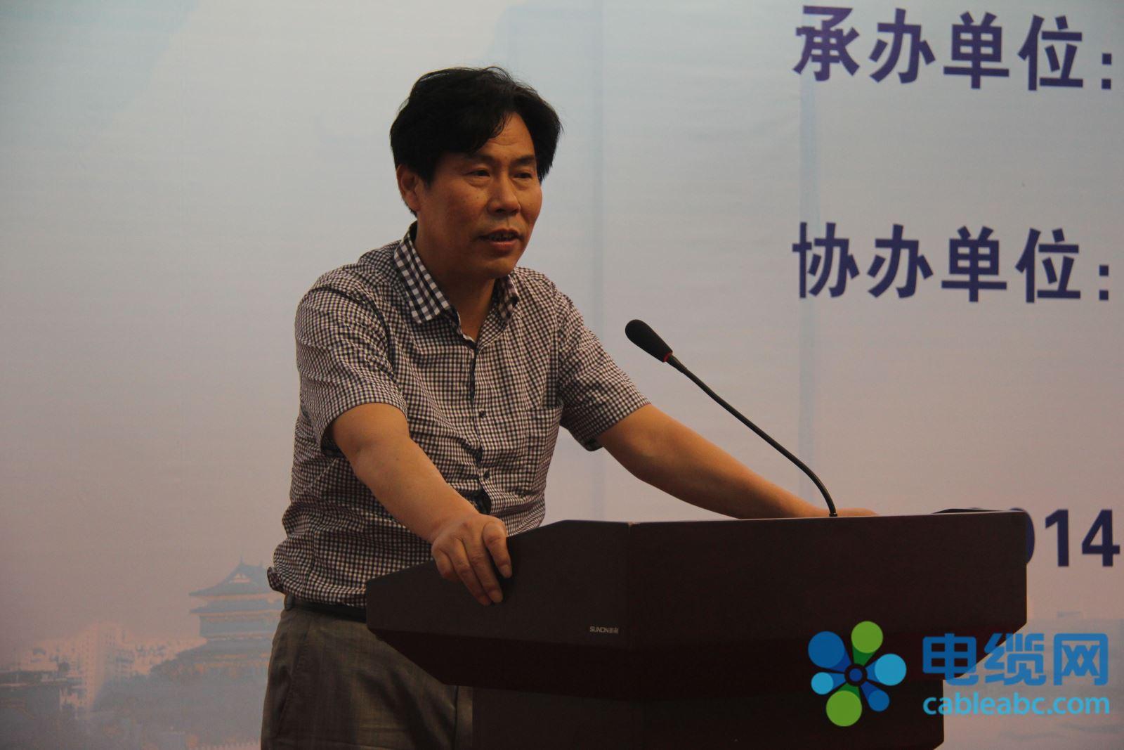 南京大件起重运输集团有限公司董事长陶志强作主题演讲