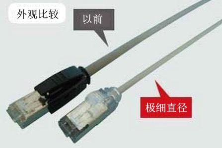 冈野电线研发极细直径工业机器人用同轴电缆