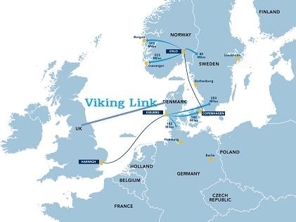 英国网拟建海底电力电缆进口丹麦电力