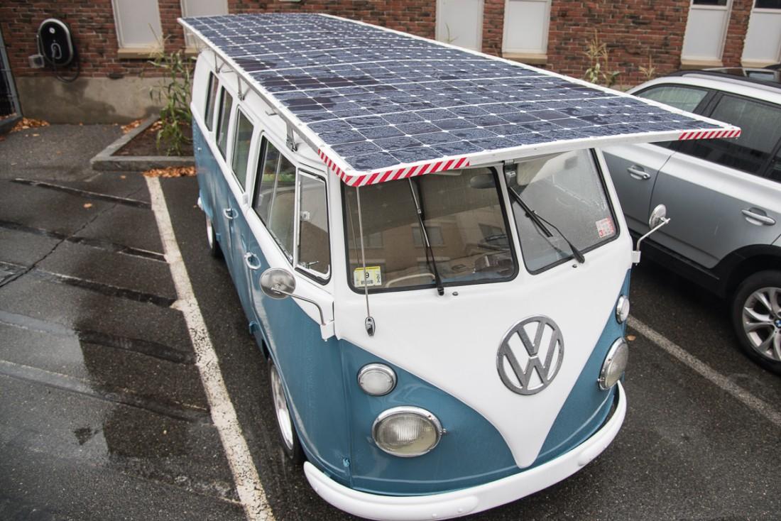 大众汽车也安上屋顶太阳能了!