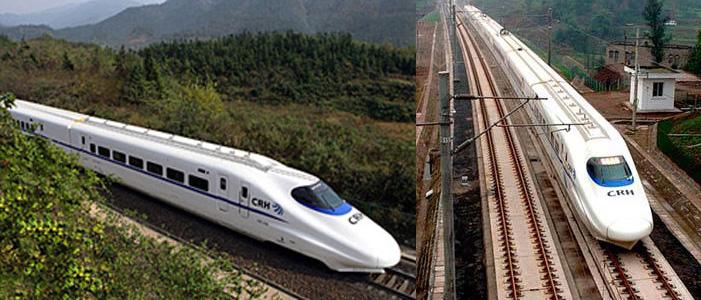 中国铁路发展近况及建设中美海底铁路的设想