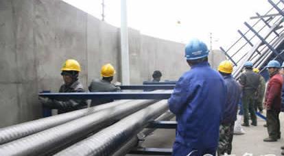 日照220千伏自备变电站成功安装国内最大截面电缆