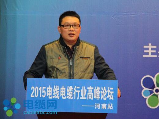 武汉纵缆通模具有限公司总经理方健银演讲