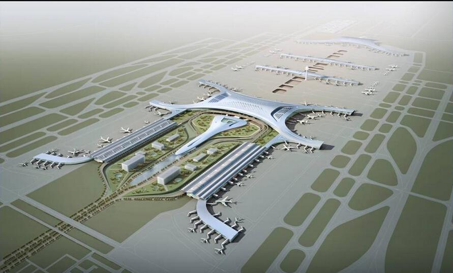 郑州飞机场地铁站