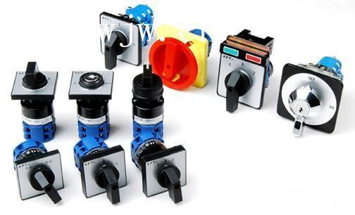 开关由多节触头组合而成,在电气设备中,多用于非频繁地接通和分断电路