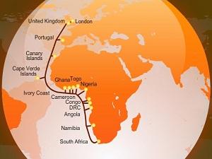 华为海洋完成西非海缆系统的100G升级