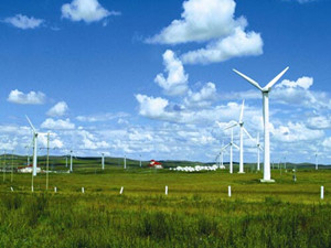 山西平鲁石堂山风电场二期工程首台风机成功并网发电