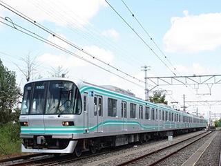 東京地鐵公開南北線9000系升級換代后的電車圖片