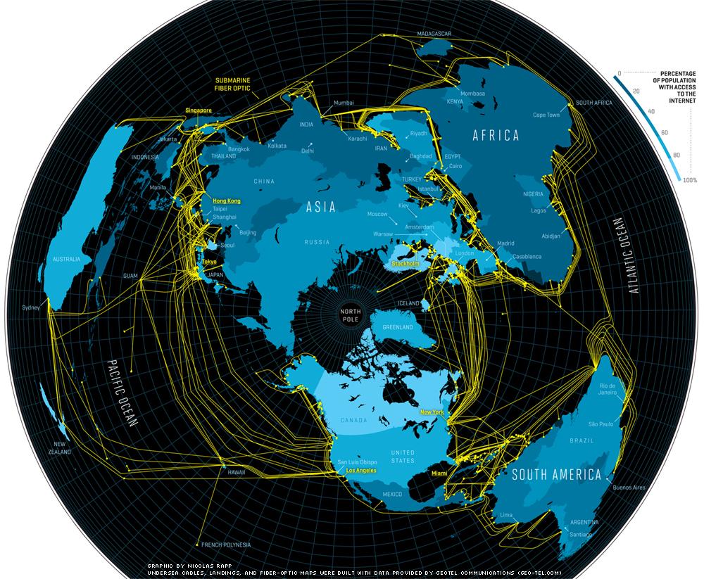 2016-2020全球海底光缆系统年复合增5.75%