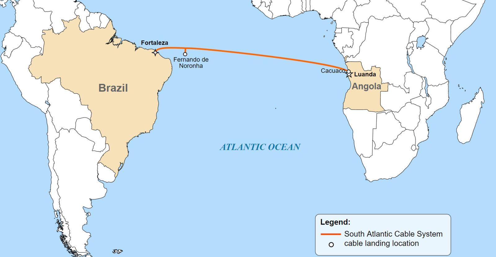 南大西洋电缆系统进展顺利 巴西数据中心开工