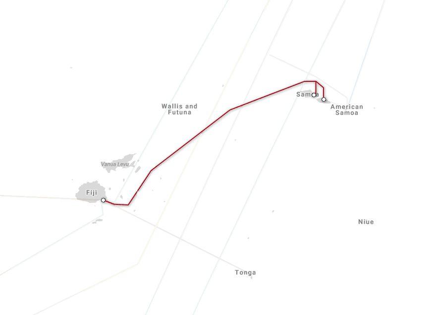 美属萨摩亚将加入萨摩亚群岛海底光缆项目tui-samoa系统建设,这是继ha