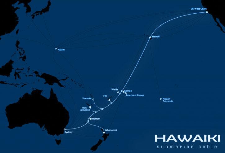 美属萨摩亚将接入两条国际海底光缆系统 【电缆网讯】美属萨摩亚电信局ASTCA日前透露,美属萨摩亚将加入萨摩亚群岛海底光缆项目Tui-Samoa系统建设,这是继Hawaiki海缆系统之后,美属萨摩亚接入的第二个海底光缆系统。 当前,美属萨摩亚带宽仅500Mbps,其中400Mbps来自O3b卫星网络系统,145 Mbps来自美属萨摩亚-夏威夷电缆系统,尽管容量达到1Gbps,但是由萨摩亚和美属萨摩亚共享。 Tui-Samoa海底光缆系统总容量达到8Tbps,连接萨摩亚、瓦利斯和富图纳群岛、斐济第二大岛屿瓦