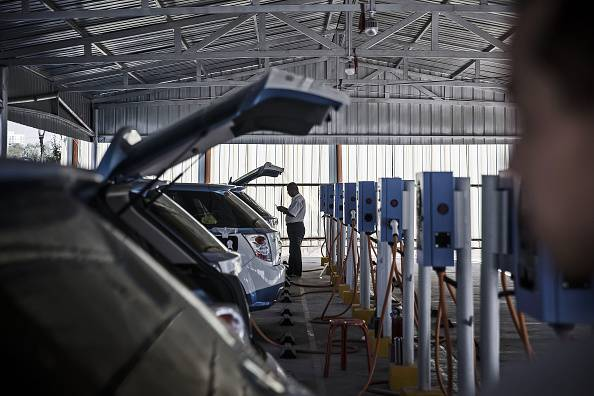 abb为德国高速公路交付117座电动汽车充电站