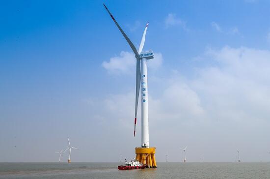 亚洲装机容量最大海上风电项目全面运营