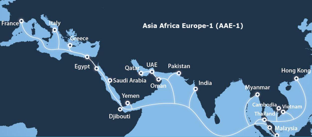 菲律宾长途电话宣布投资亚非欧-1海底光缆