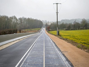 浙江绍兴建成全球承重最大的太阳能试验道路