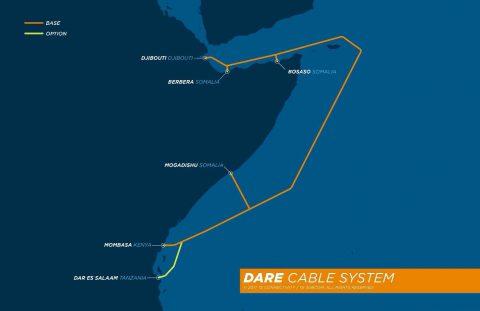 吉布提-非洲区域快车海底光缆系统签署供应合同