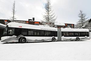 ABB携手达沃斯 共同推动可持续交通方式