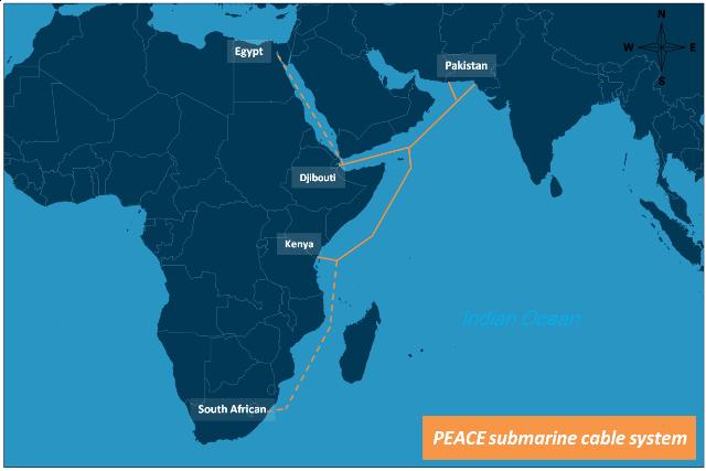 peace海底光缆系统巴基斯坦段即将启动建设_电线电缆