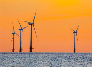 阿伯丁湾海上风电场安装