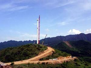 中原地区容量最大的山地风电场进入全面移交阶段