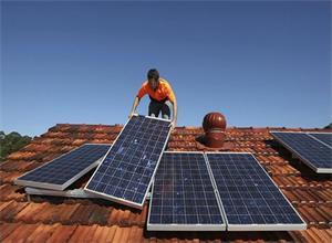越南向国内推广屋顶太阳能电池板