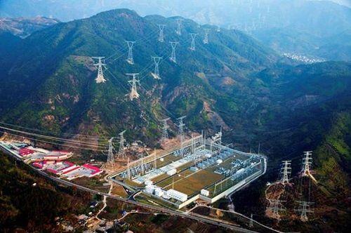 智慧能源参建的昌吉-古泉±1100kV特高压直流输电线路工程