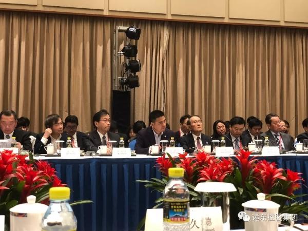 蒋锡培受邀参加2019年年会