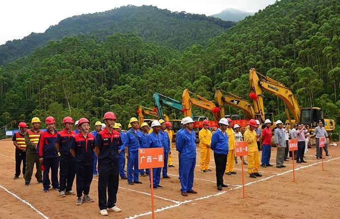 華潤電力廣西新能源福綿六萬山風電項目動工