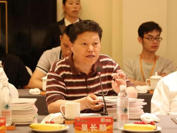国际大电网绝缘电缆中国研究委员会副主任、教授级高工吴长顺在会上发言