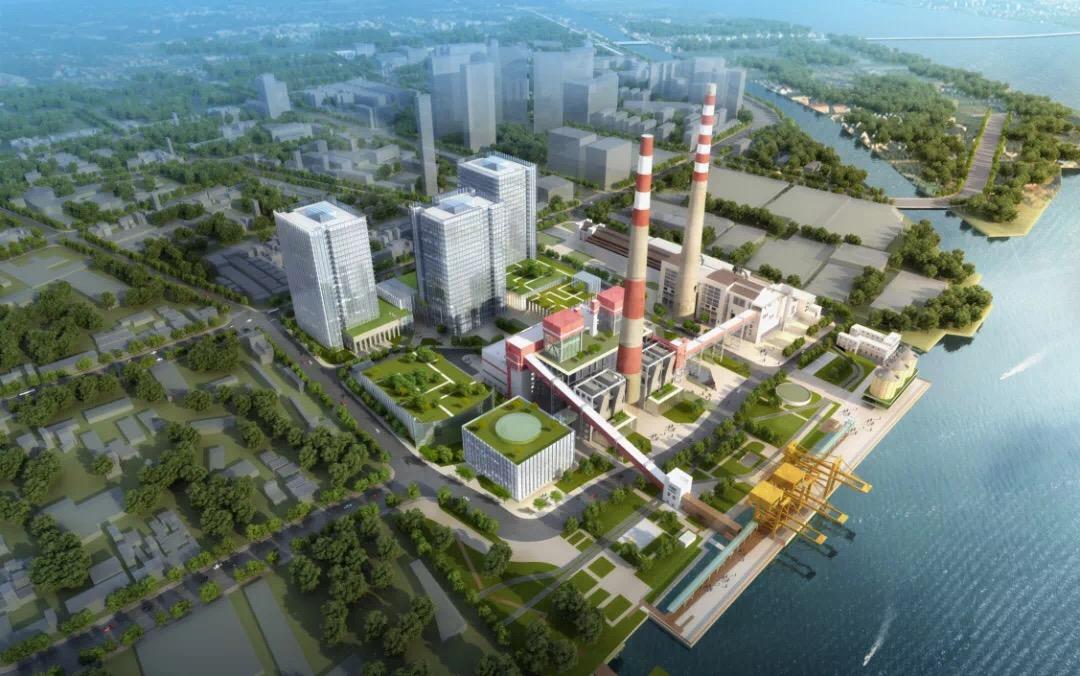 杨树浦电厂概念图