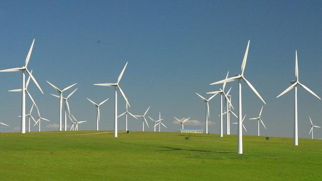 黃河公司風電場日發電量再創新高