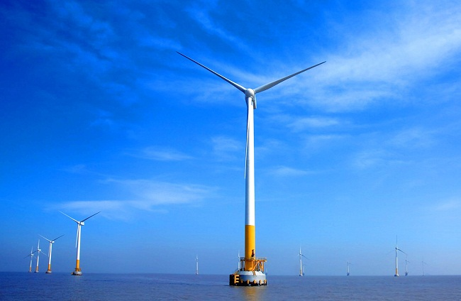 广东省首个大兆瓦级海上风电项目全面投产
