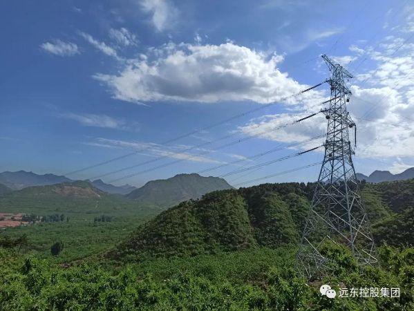 远东碳纤维复合芯导线服役于承德东至阳乐双回500kV输变电工程Ⅱ标段