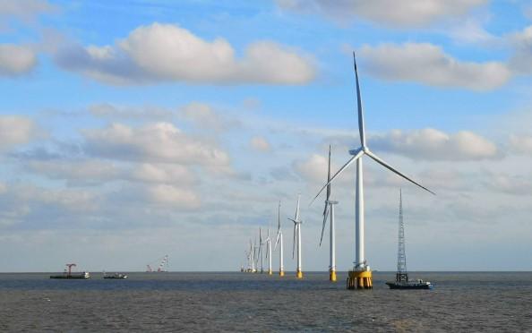 亚洲最大规模海上风电集群即将建成