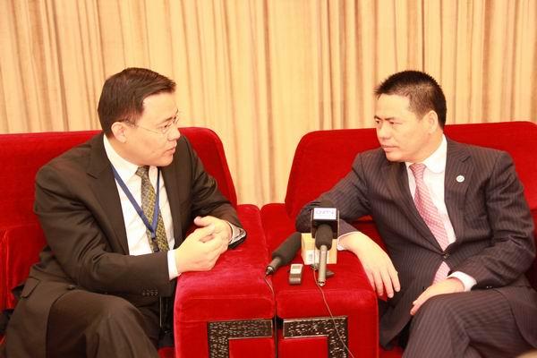 蒋锡培出席2012首届中国领袖力年会