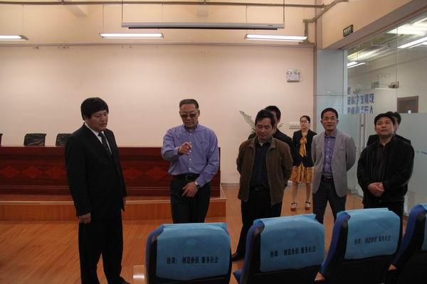 经信委领导参观远东大学-江苏经信委领导参观考察远东图片