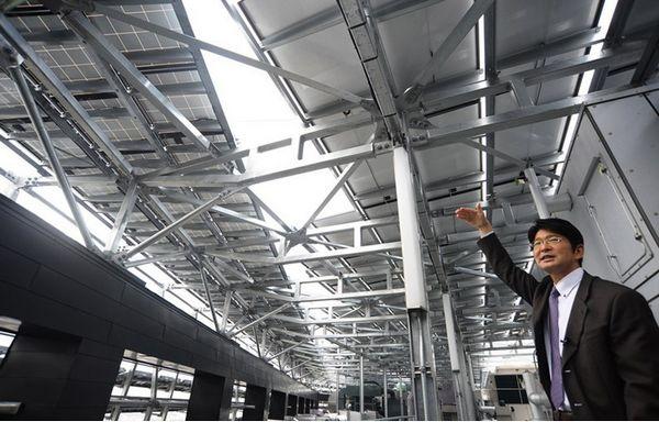 日本大学建成太阳能研究楼_电线...